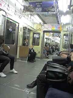 最終神奈川新町行き800形