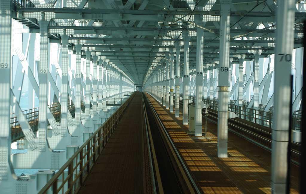 快速マリンライナーから見た瀬戸大橋